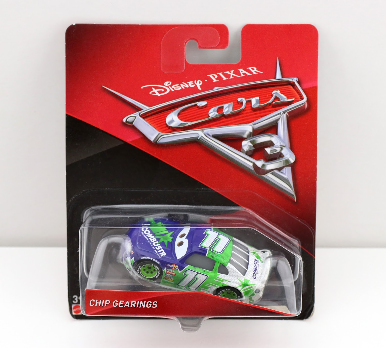 Cars 3: Chip Gearings (Combustr) diecast review