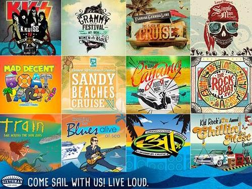 FANS DEL COUNTRY - Norwegian Cruise Line y Sixthaman anuncian los programas de otoño y primavera para los Festivales de Música en el Mar