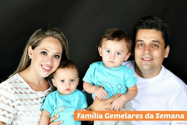 A história da mamãe de gêmeos Hingridi Cardia