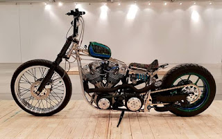 Ab heute Mittag wieder Custombike Show in Bad Salzufflen...