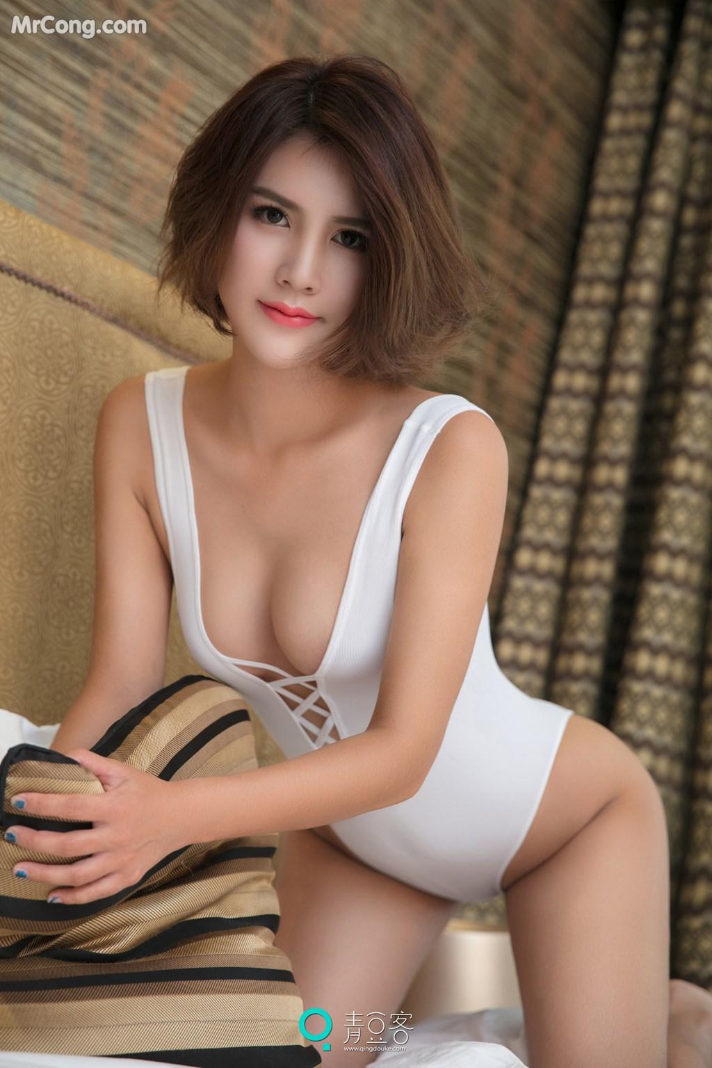 Image QingDouKe-2017-10-10-Yi-Nuo-MrCong.com-010 in post QingDouKe 2017-10-10: Người mẫu Yi Nuo (依诺) (54 ảnh)