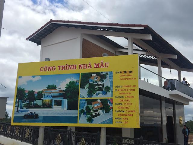 Nha dieu hanh du an Bao Loc Capital datnenbaoloc.com