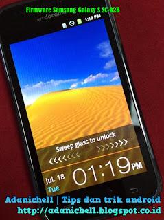 Firmware Samsung Galaxy S SC-02B