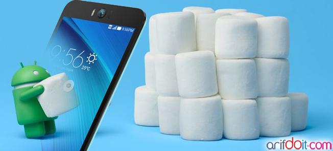 Android Marshmallow di Asus Zenfone Selfie