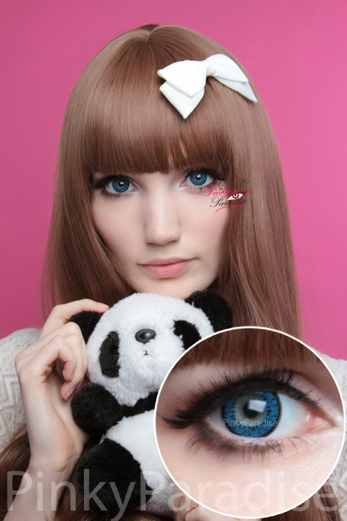 Baby Panda Blue Cosmetic Contacts