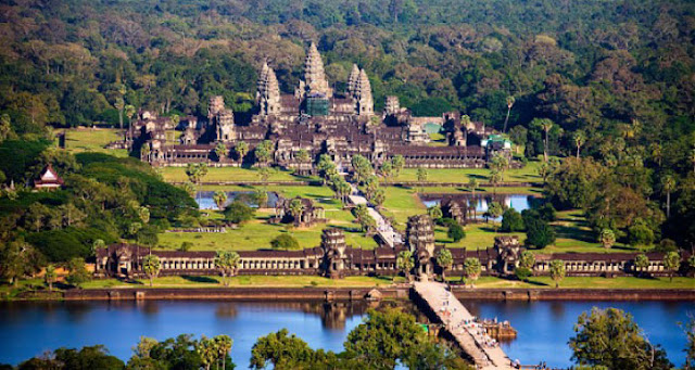 Angkor Wat Tapınakları/Kamboçya-Siem Reap