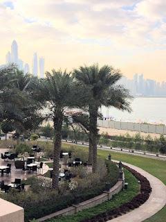 Aussicht Fairmont The Palm Dubai (C) Kundenfoto