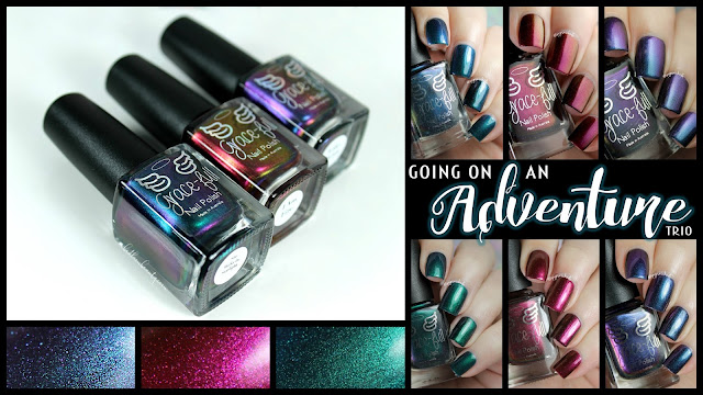Grace-Full Nail Polish Going On an Adventure Trio