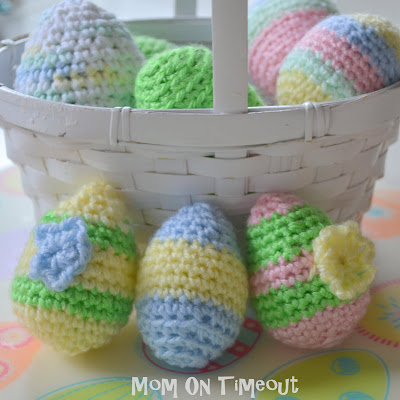 Crocheted Easter Eggs Pattern Mom On Timeout