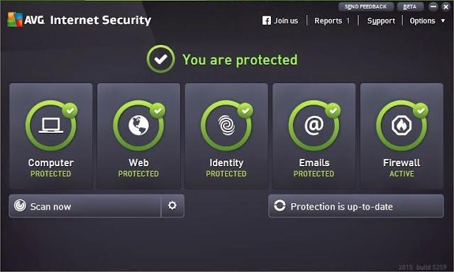 مجموعة برامج الحماية AVG 2015 متاح الأن للتحميل و تأتي مع واجهة جديدة