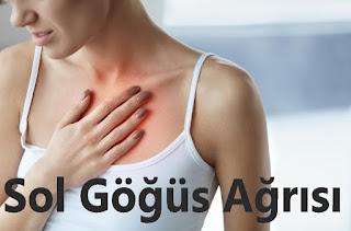 sol göğüs ağrısı sebebleri