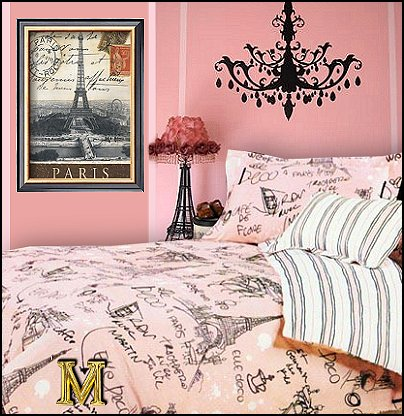 Paris Themed Bedroom Ideas Style Decorating Bedding