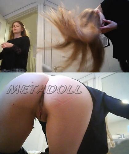WC 2474-2478 (Toilet voyeur video of girls pissing in restaurant)