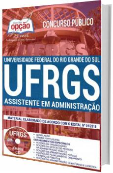 Apostila Concurso UFRGS 2018 Assistente em Administração
