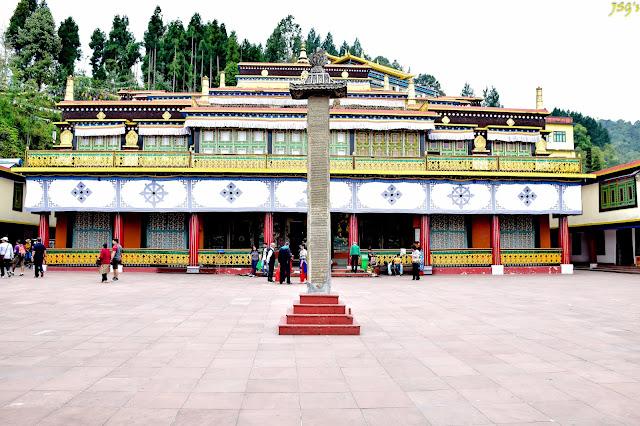 Rumtek Monastery at Sikkim @DoiBedouin