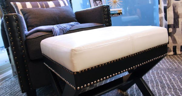Diy With Style How To Add Nailhead Trim To Furniture