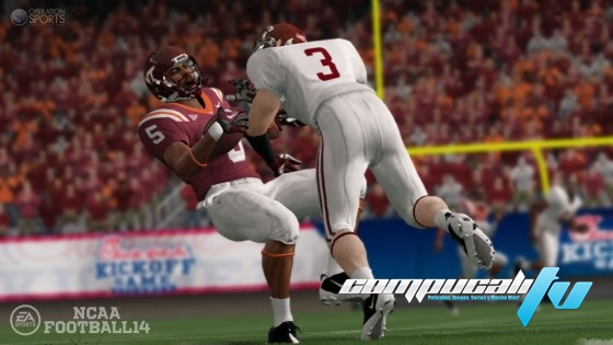 NCAA Football 14 PS3 Region USA