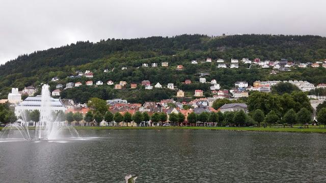 Byparken parque Bergen
