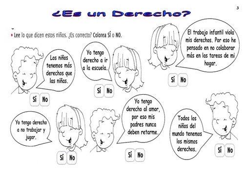Plastilina Y Lápiz 20 De Noviembre Día De Los Derechos: *MIS COSAS DE MAESTRA*: Derechos Y Deberes De La Infancia