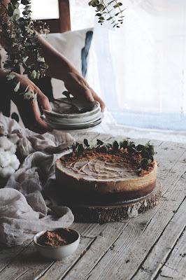 receta CHEESECAKE DE CREMA DE GALLETAS LOTUS  kidsandchic