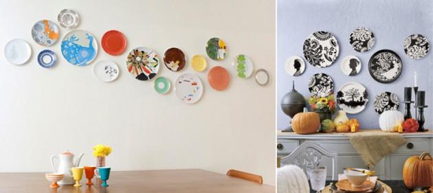 Oficina de arquitetura pratos na parede for Objetos decorativos para oficina