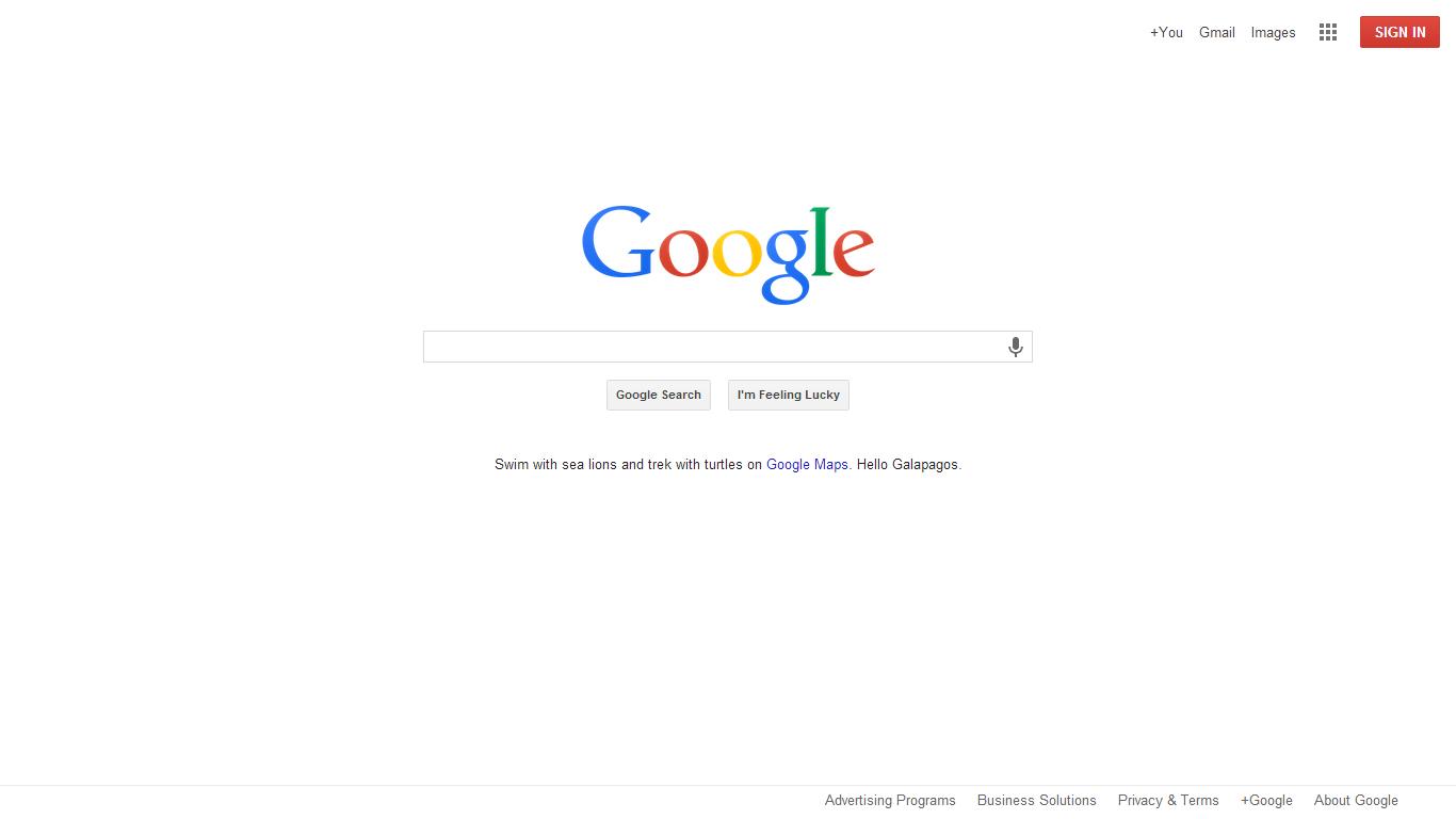 كيفما كتبت Google سوف يظهر لك محرك البحث
