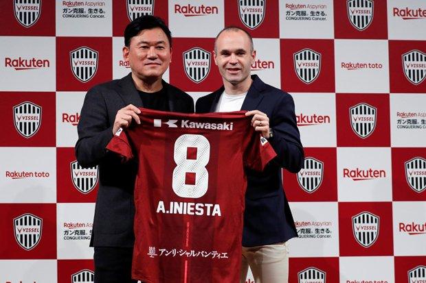 Pilih Vissel Kobe, Iniesta Tolak Banyak Tawaran Klub Lain