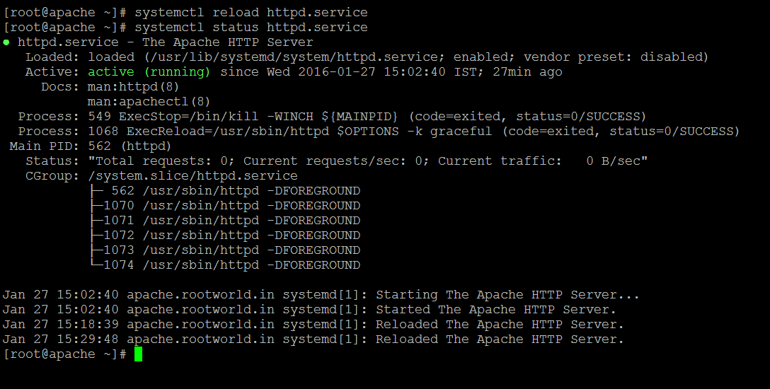 Linux How To: How To Set Up Apache Virtual Hosts on CentOS/RHEL 7 ?