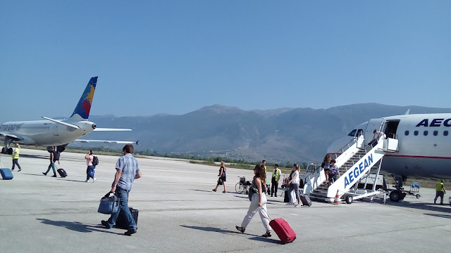 Γιάννενα: Νέο άλμα σε πτήσεις και επιβατική κίνηση τον περασμένο Ιούλιο! στο ΑΕΡΟΔΡΟΜΙΟ ΙΩΑΝΝΙΝΩΝ