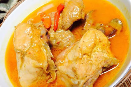 Resep Gulai Ayam Padang Asli Enak Sederhana