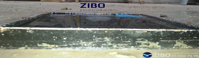 Kanalverstopfung ZIBO Wien,20 Notdienst verstopfter Abfluss Ablauf  Rohr
