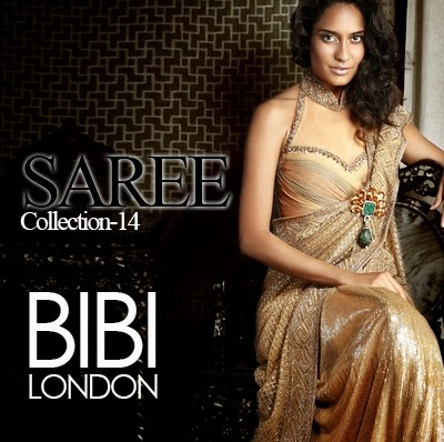 f69eafb9c4 BIBI London Saree Collection 2014 - She9 | Change the Life Style