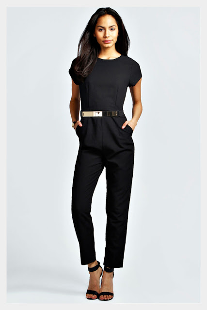 Belt Jumpsuit