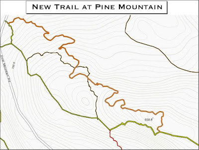Building a New Trail at Pine Mountain