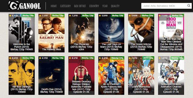 Download film gratis dan mudah di ganool