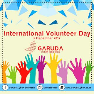 Download File PSD dan JPEG Desain Hari Relawan Internasional
