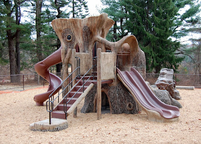 the kids playground at DelCarte is currently closed for repairs
