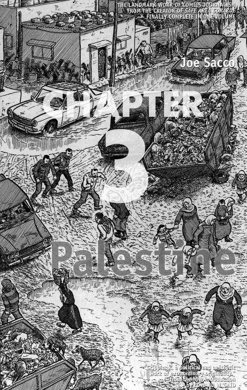 Read chapter 3 of Joe Sacco - Palestine online