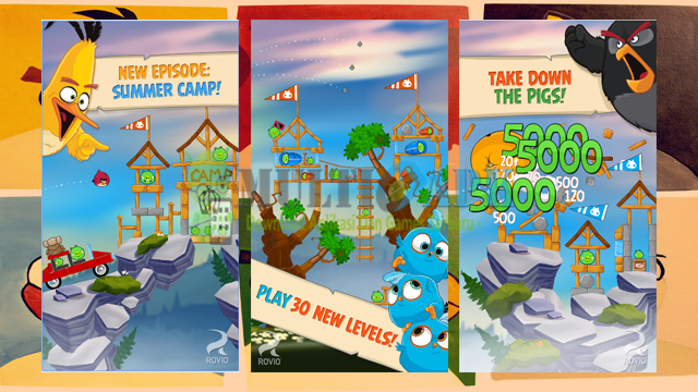 Game Angry Birds Seasons Versi 6.2.1 Mod Apk Bonus Terbaru Android