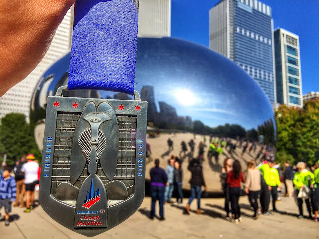 Chicago Marathon 2016 medal