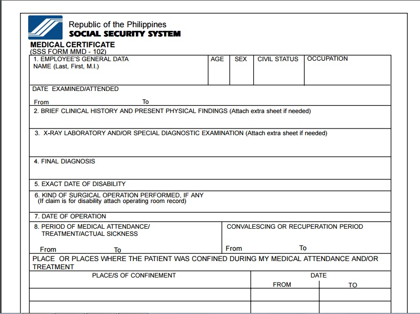 Sample Medical Claim Form Medical Claim Form Sample Medical Claim