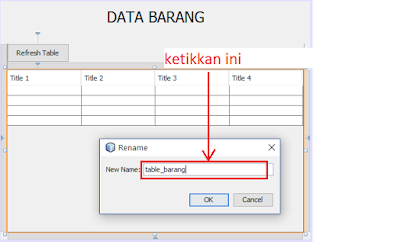 6 - Tutorial Java Netbeans – Cara Gampang Menampilkan Data Yang Ada Di Database Mysql