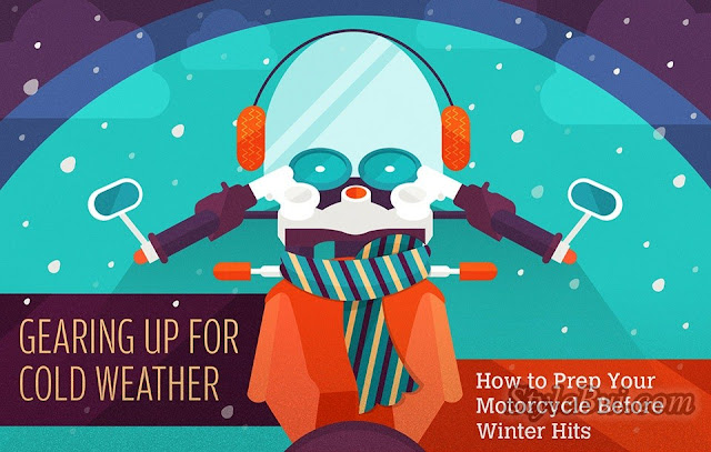 Bảo dưỡng xe mô-tô của bạn chuẩn bị cho mùa mưa