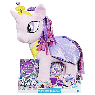 My Little Pony Princess Cadance Hasbro Feature Wings Plush