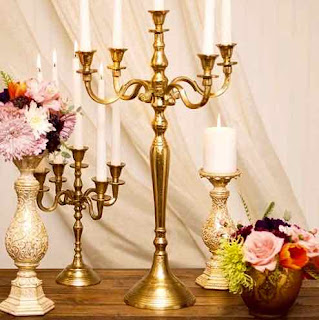 Accent Decor Candelabra Candle Holder.