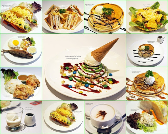 Wide Selections Of Sweet & Savoury Dishes