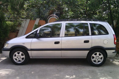 Eksterior Chevrolet Zafira