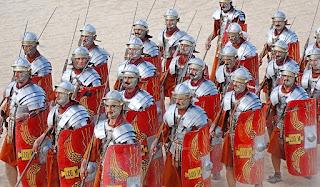 Ricerca sui legionari di Roma, strategie ed equipaggiamento