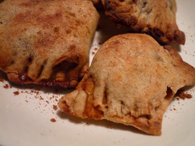 empanadillas dulces calabaza