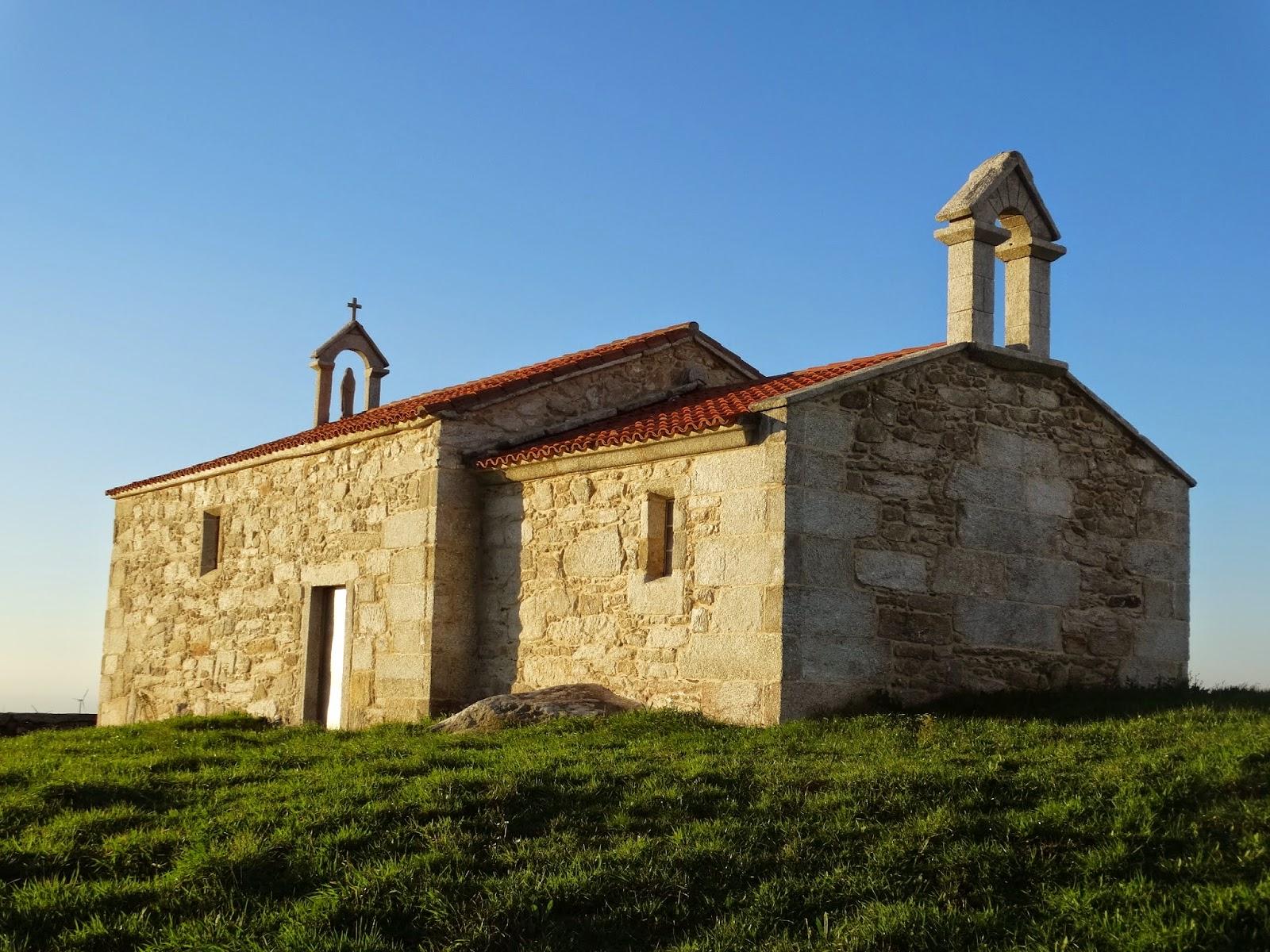 Ermita de Nosa Señora do Faro en Ponteceso